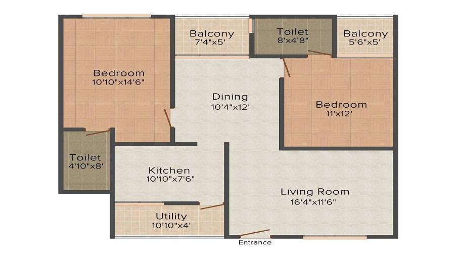 Nisarga Nisarga Capital Floor Plan