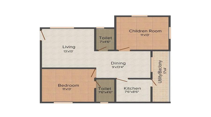 ARS Green Shire Floor Plan