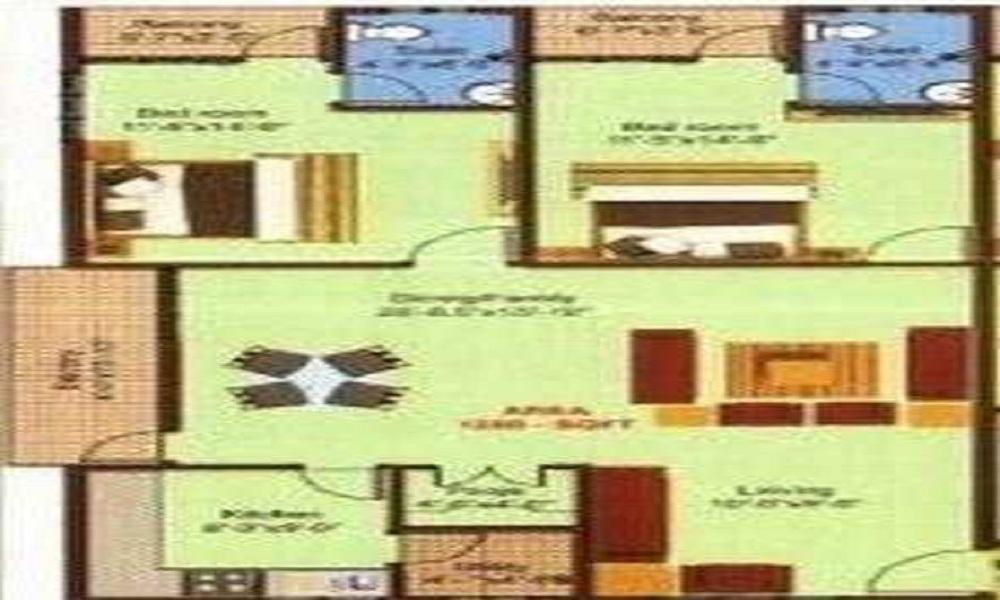 Mahaghar Properties Viceroy Sagar Floor Plan