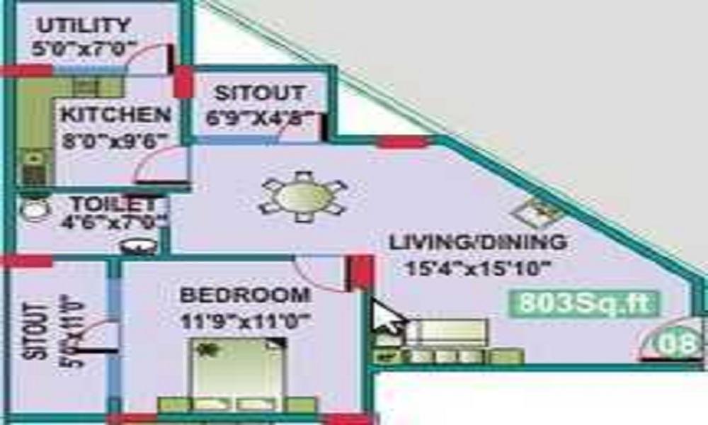 Mahaveer Ce Dar Floor Plan