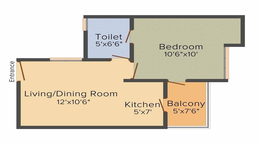 Romaa Parradise Floor Plan