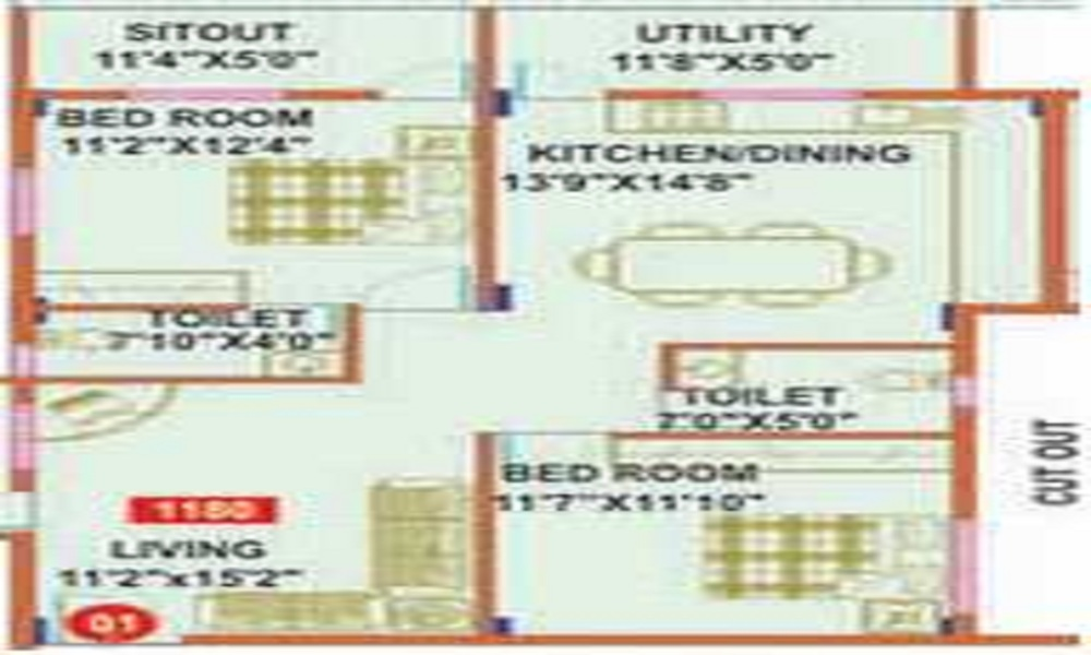 Mahaveer Wilton Floor Plan
