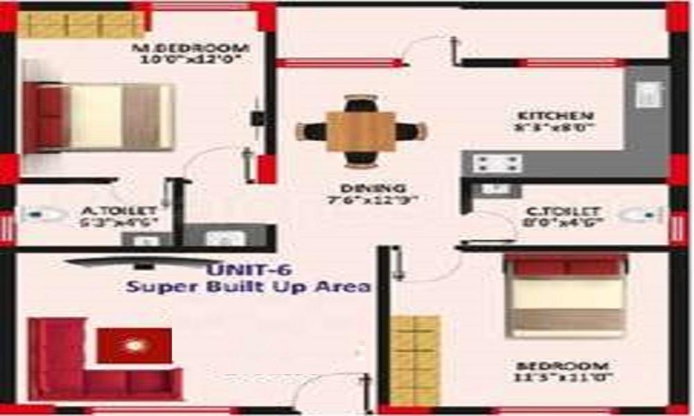 MAK INDIA Mak Park View Floor Plan