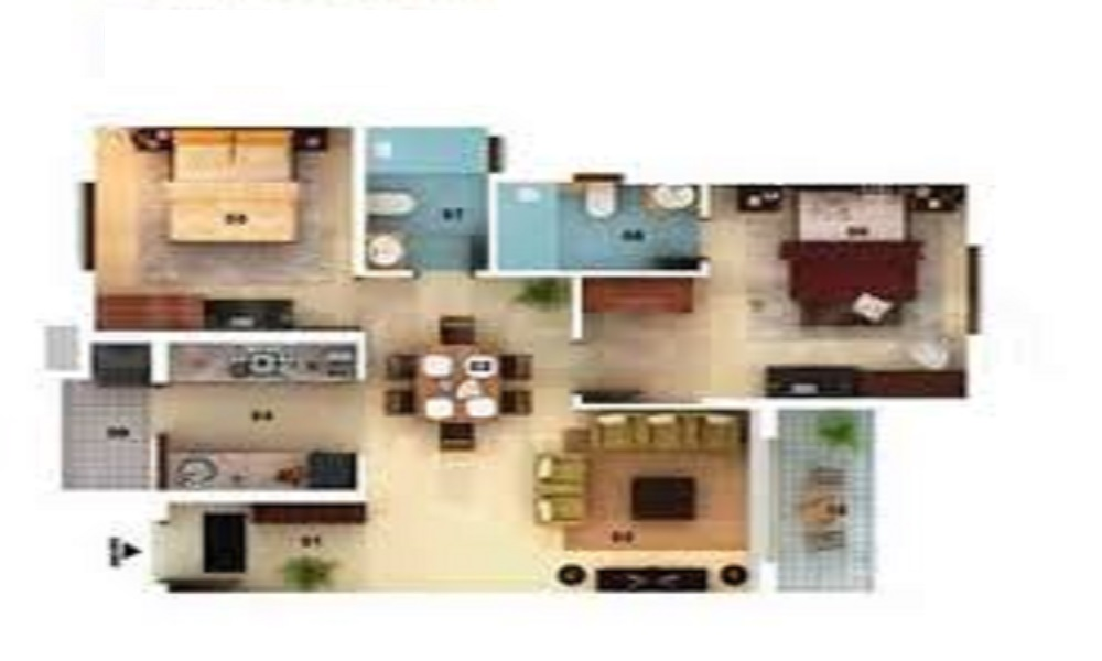Mantri Serenity Floor Plan