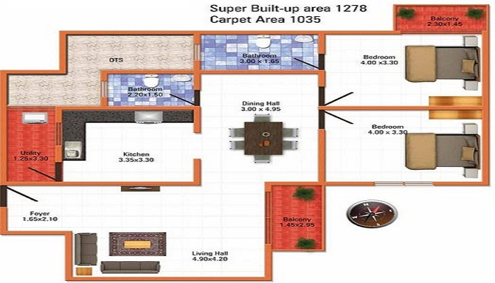 MJ Infrastructure MJ Lifestyle Astyllen Floor Plan
