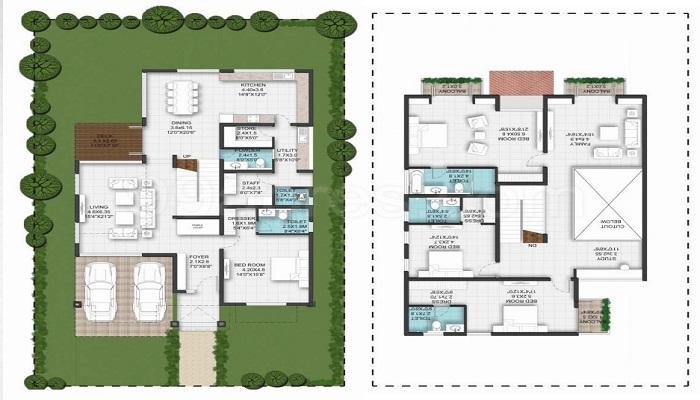 Nambiar Builders Bellezea Floor Plan