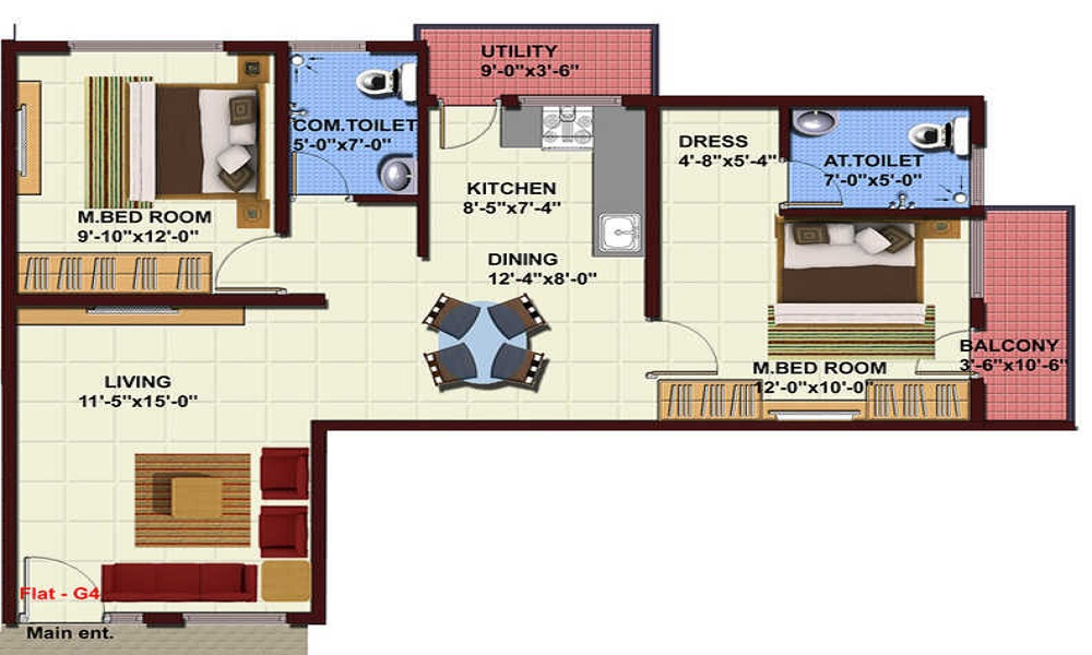 NBR Land NBR Lake View Floor Plan