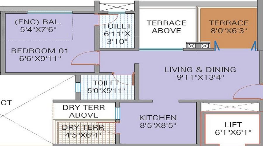 Shivalik Sharda Harmony Floor Plan