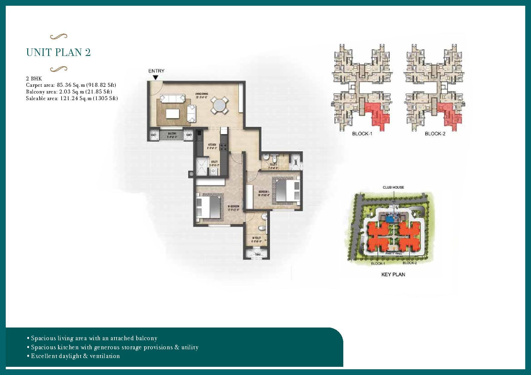 Shriram Suvilas Garden Of Joy Floor Plan