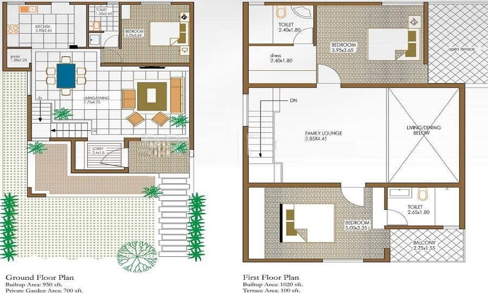 Niranjan Akshaya Floor Plan