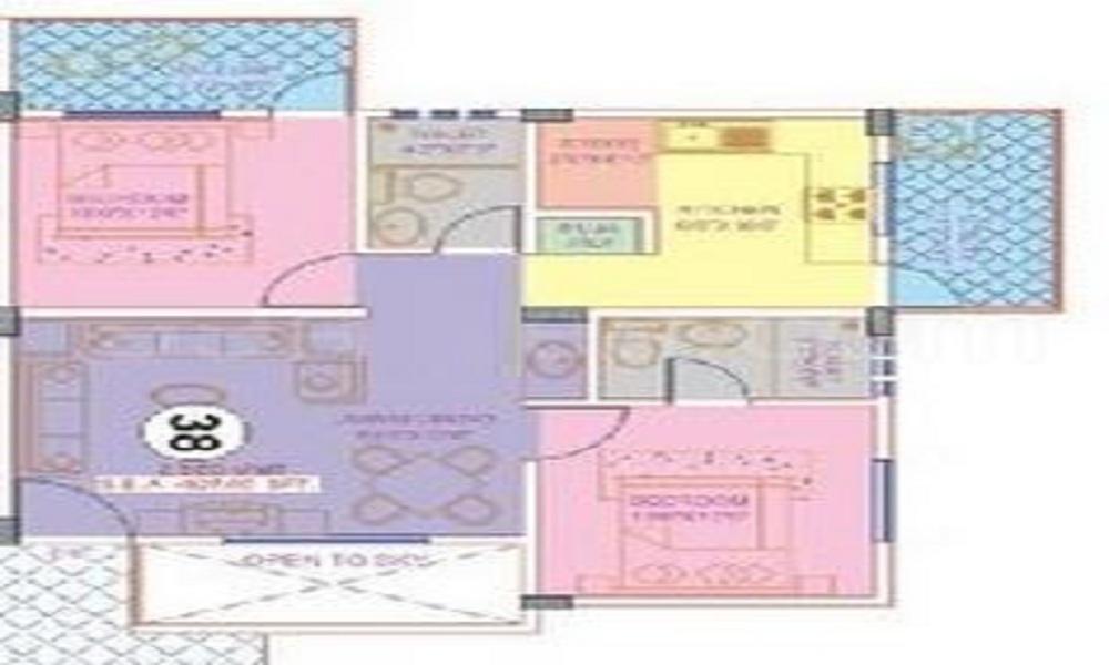 Nisarga Builders Keethana Floor Plan