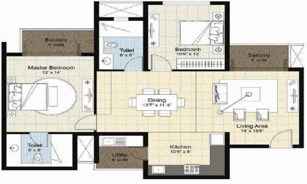 Nitesh Cape Cod Floor Plan