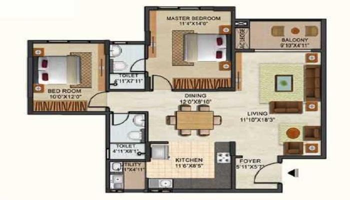 Ozone Group Urbana Floor Plan