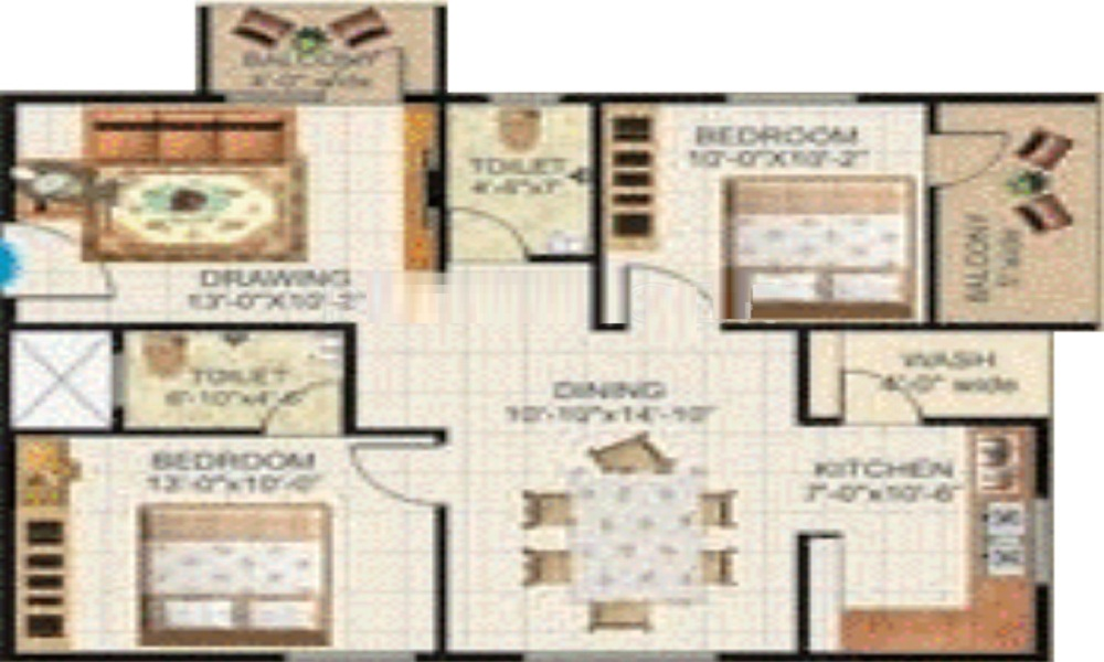 Paras Group Maitri Floor Plan