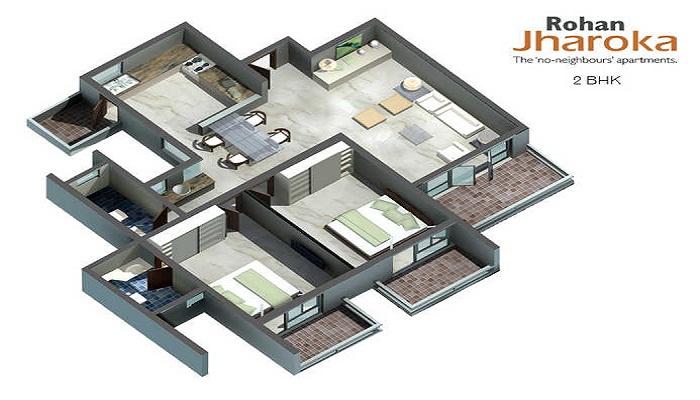 Rohan Jharoka Floor Plan
