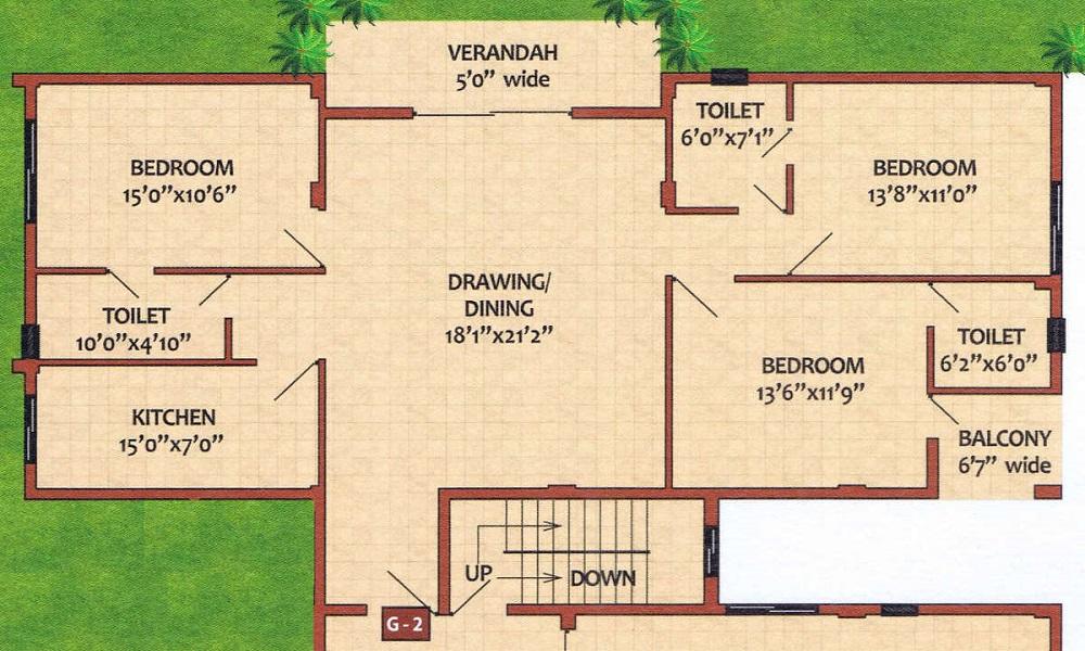 Shriram Samskruti Floor Plan