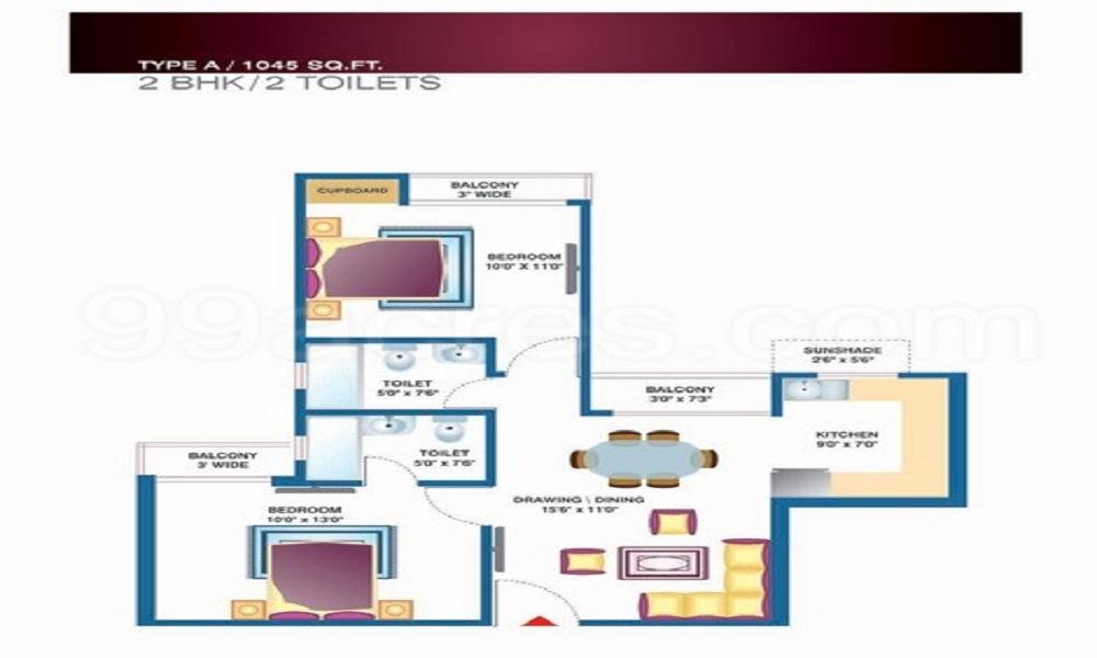 Proview Techno City Floor Plan