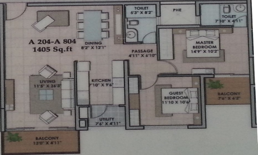 SJR Group Celestia Floor Plan
