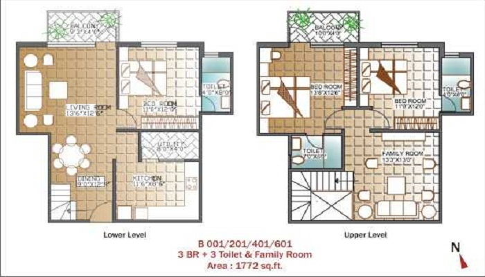 Unishire Panamera Floor Plan