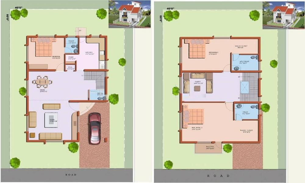 Vakil Housing Hosur Hills Floor Plan