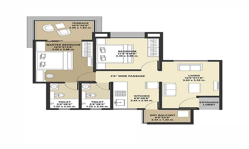 Amoda Valmark Floor Plan