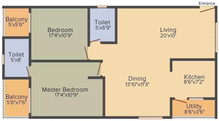Sannidhi Floor Plan