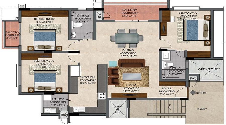 Shanks Sunnyside Floor Plan