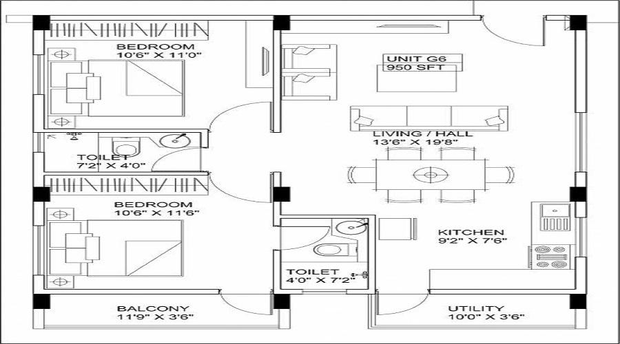 Shrishti Enclave Floor Plan
