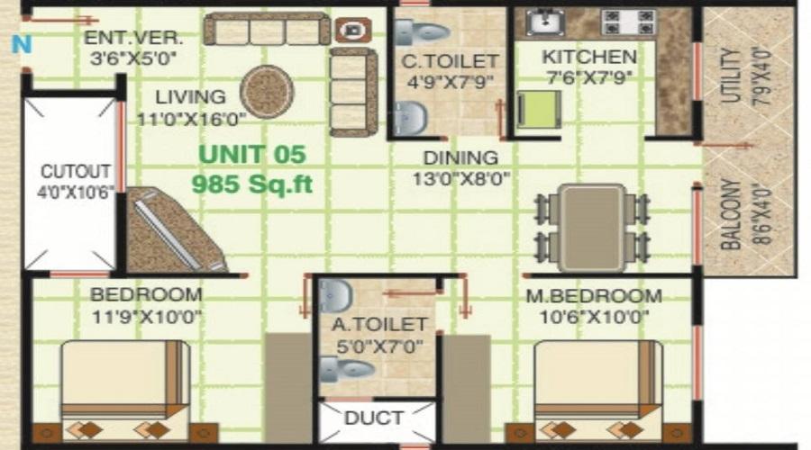 Thunga Elite Floor Plan