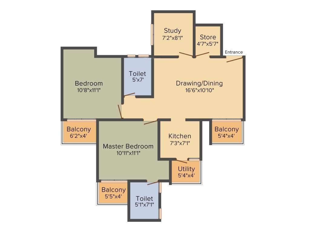 Stellar One Floor Plan