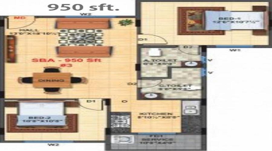 Breeze Floor Plan