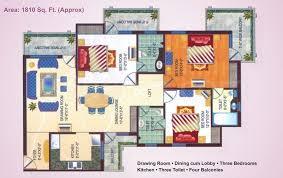 Ansal Housing Floor Plan
