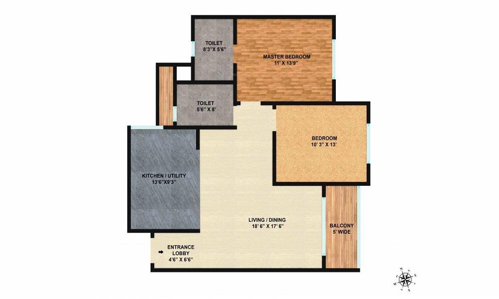 Brigade Northridge Floor Plan