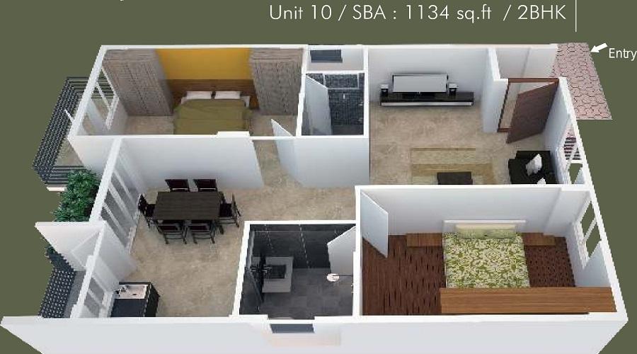 Lavilla Floor Plan