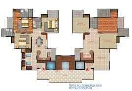DLF Beverly Park Floor Plan