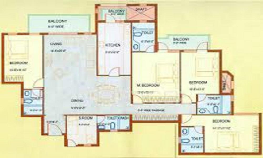 DLF Westend Heights Floor Plan