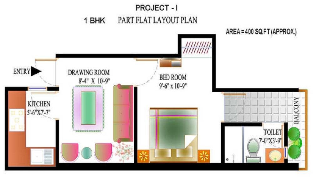 DPWHO Project 1 Floor Plan