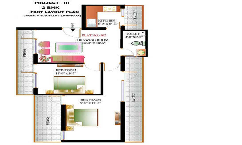 DPWHO Project 3 Floor Plan