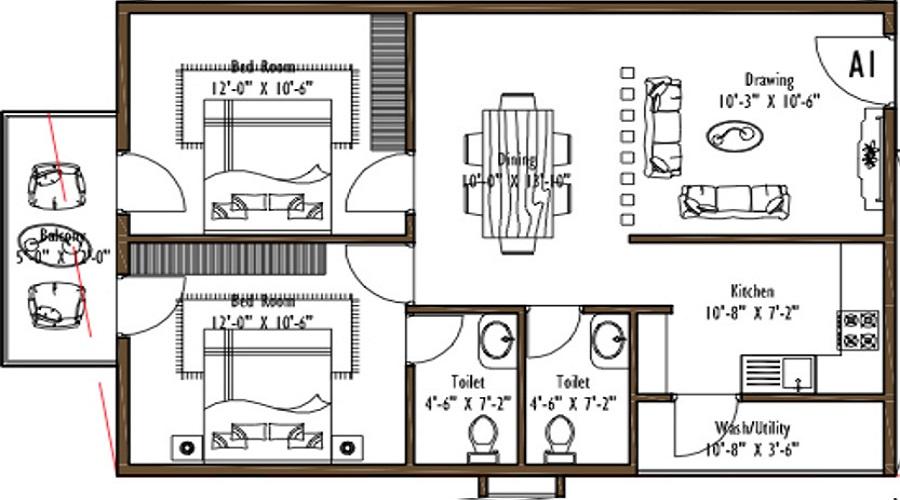 Hilife Sunny Side Floor Plan