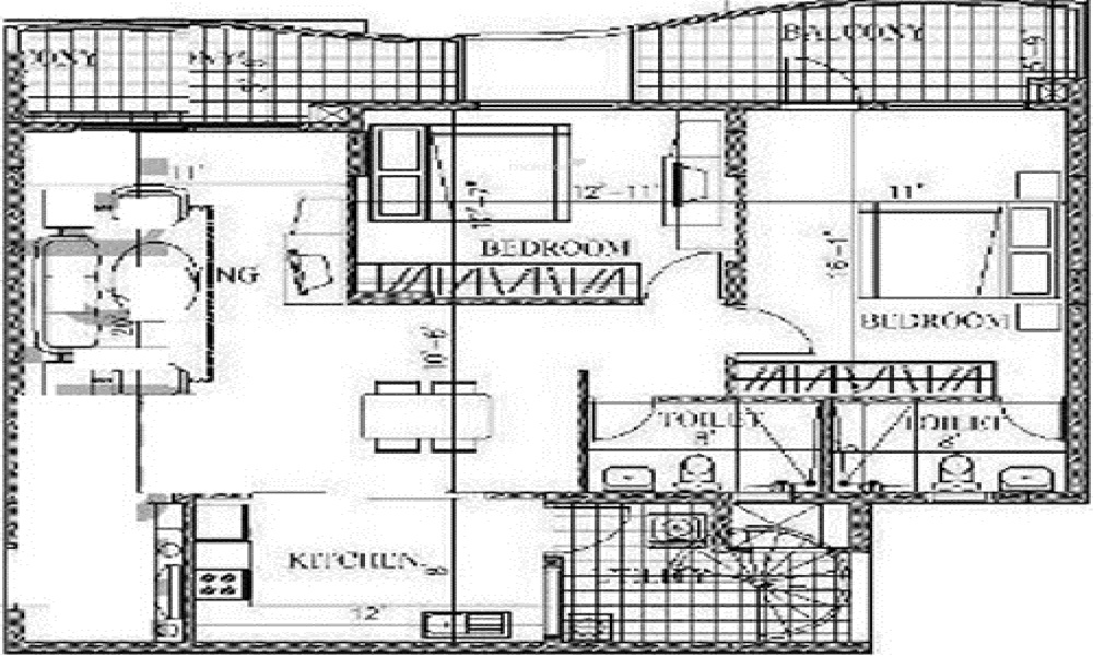Antriksh Highland Tower Floor Plan