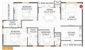Anuhar Bloomdale Floor Plan