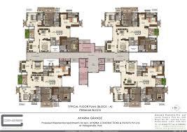 Aparna Cyber Life Floor Plan