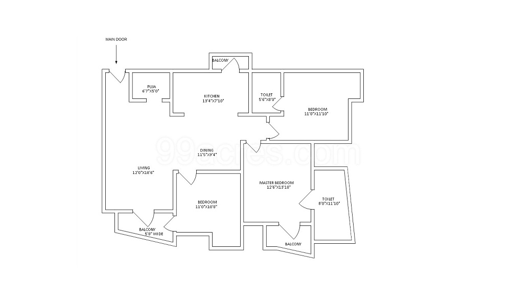 Apex Green Valley Floor Plan