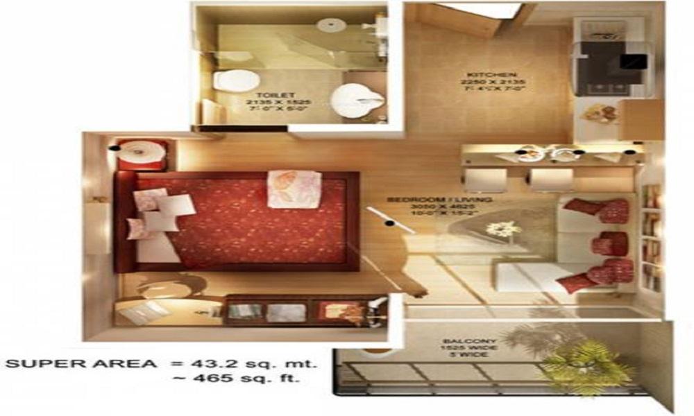 Earth Titanium City Floor Plan