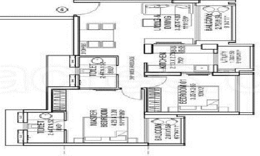 EHPL Express View Residency Floor Plan