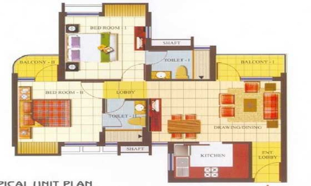 AWHO Ranjit Vihar Floor Plan