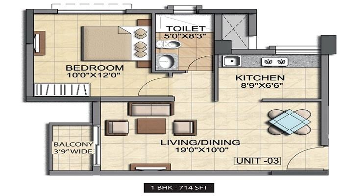 Salarpuria Sattva Cadenza Floor Plan