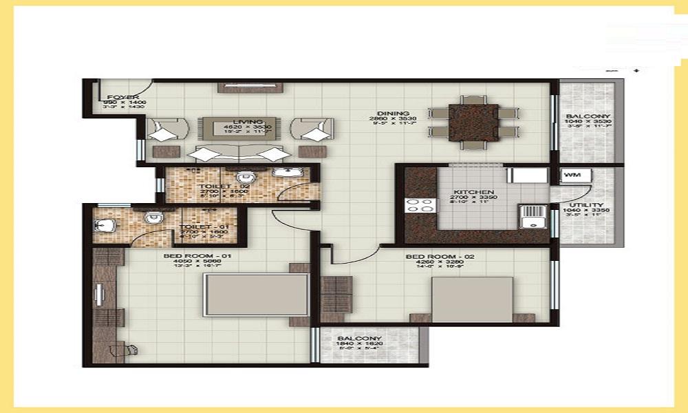 Windchants Floor Plan