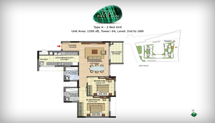 Prestige Jade Pavillion Floor Plan