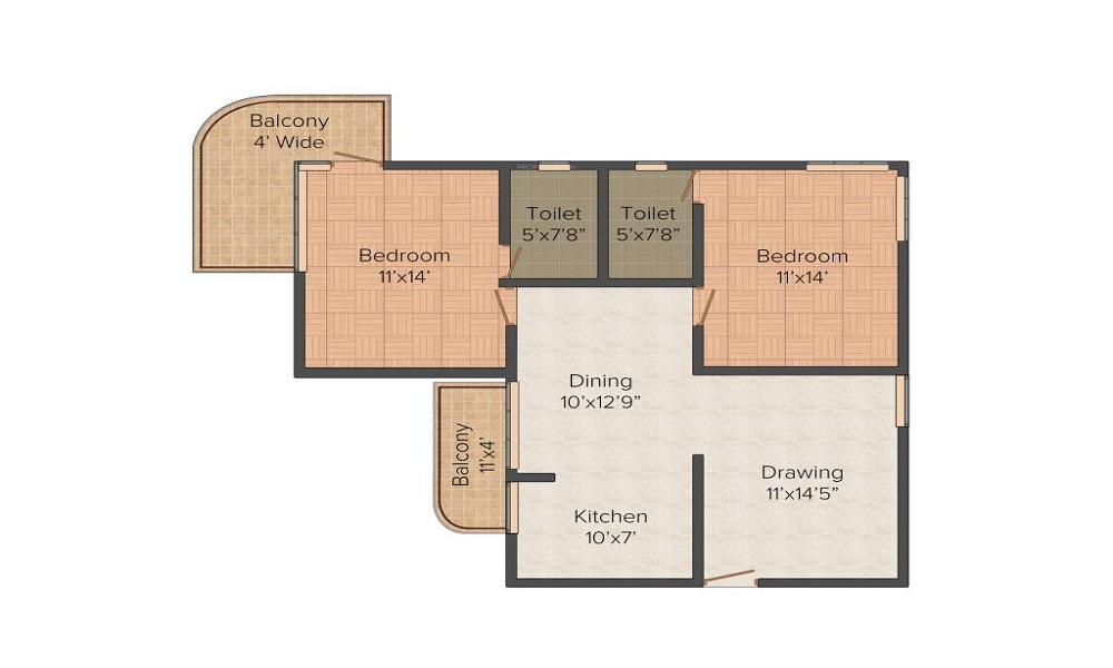 Forte Point The Olive Spire Floor Plan